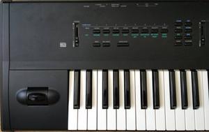 Korg X3 Workstation - Keyboard