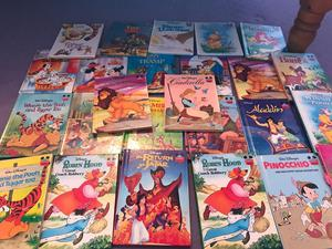 Large collection of Disney books
