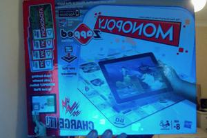 MONOPOLY ZAPPED IPAD BOARD GAME