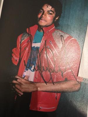 Michael Jackson autographs for sale Authentic signed