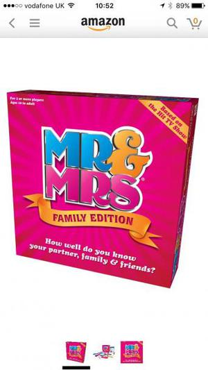 *NEW* Mr & Mrs Board Game
