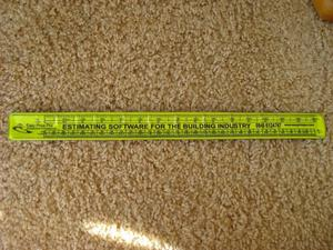 NEW SELF-COILING WRISTBAND 30 cm RULER FOR BUILDERS, DIY ETC