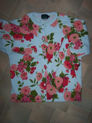 New Boden floral print cotton cardigan - age  yrs