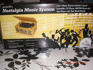 Nostalgia Music System.
