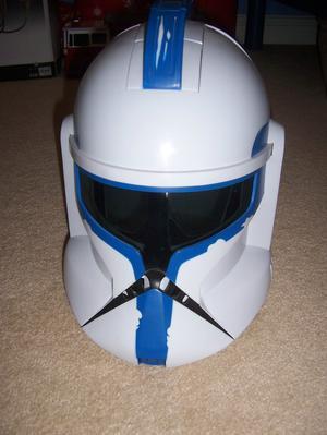 STAR WARS CLONE TROOPER Voice transmitting helmet