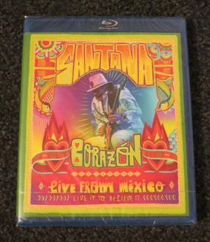 Santana: Corazon, Live in Mexico- Blu Ray New & Sealed