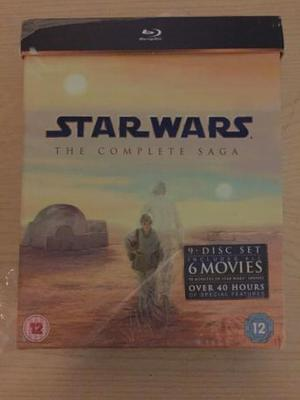 Star Wars The Complete Saga (Blu-Ray) Brand New and Sealed