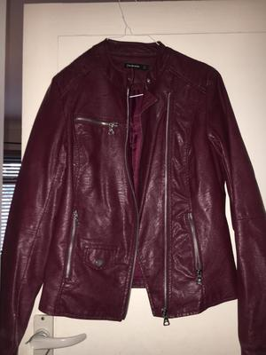 Stradivarius and new look leather look jackets for sale