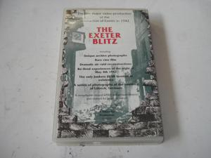 THE EXETER BLITZ -  CITY WAR RECORD VCR Video