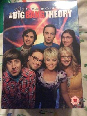 The Big Bang Theory Seasons 1-8 Box Set