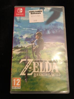 The legend of Zelda Breathe of the wild Nintendo BRAND NEW