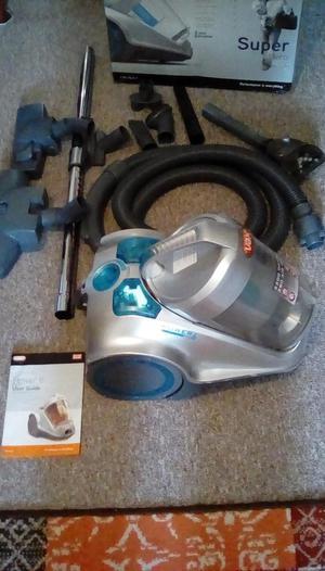 VAX Super Hero cylinder vacuum cleaner.