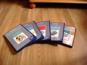 Walt Disney Treasures Collection of five