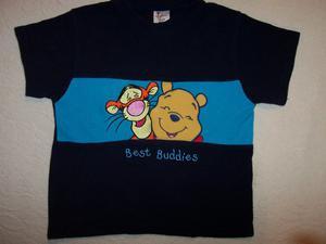Winnie the Pooh fleece and t-shirt.  mths