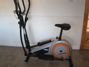 YORK FITNESS ASPIRE ELLIPTICAL 2 in 1CROSS TRAINER