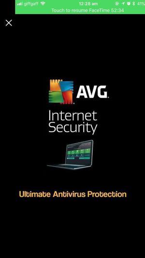 AVG Internet Security  Year License
