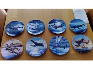 Dambusters Anniversary Collectors plates (Royal Worchester)