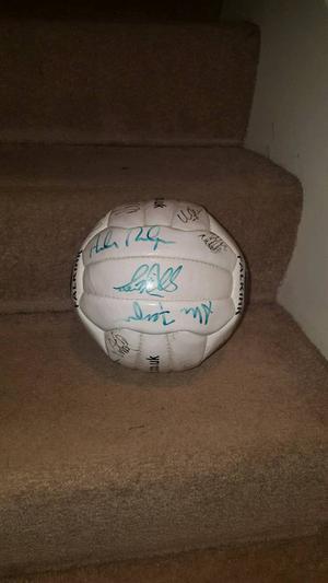 Falkirk fc signed ball