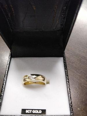 8fe96f4d6ba66 Gents 9ct gold 5 row keeper ring coventry   Posot Class