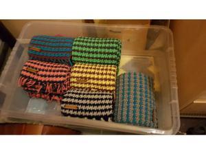 Handmade scarves in Huddersfield