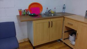 Kitchen Sink & Cupboard