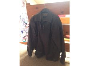 Mens Leather Jacket size  Chest in Hull