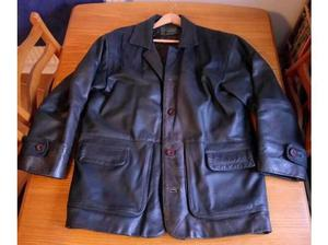Men's brown leather jacket in Weston Super Mare