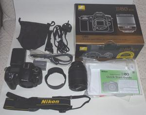 Nikon D80 with Nikon accessories