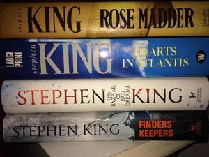 Stephen King Hardback Books