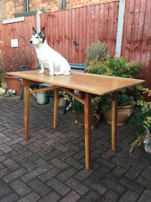 Vintage trestle table, fair, kitchen, desk, garden £40