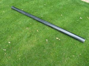 110mm x 3m Black Soil Pipe.