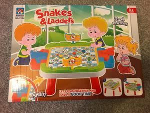 BRAND NEW snakes and ladders
