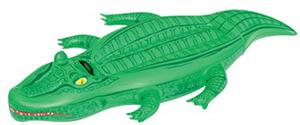 Bestway Crocodile Ride On Pool Float - Green, 66 Inch