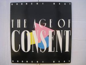Bronski Beat LP (The Age of Consent)