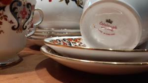 Colclough 6 piece Tea service with Teapot