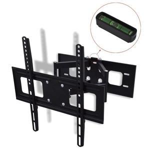 Double-armed Tilt & Swivel Wall Mounted TV Bracket 3D 400 x