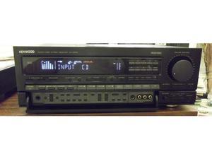 Kenwood KR-V watts per channel surround sound AM/FM