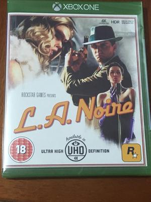L.A. Noire Xbox one brand new still sealed