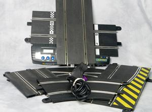 Over 50 items of Scalextric Sport Track Items