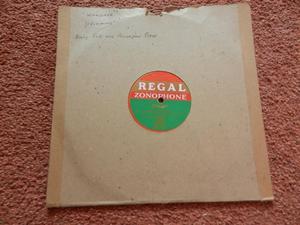 Regal Zonophone Vinyl Record