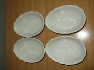 Set of four Advocado Dishes (New)