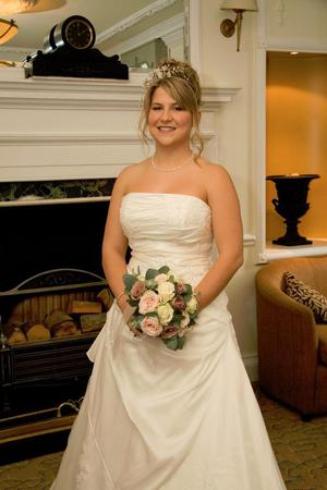 Size 12 Designer Wedding Dress