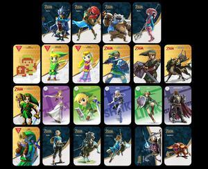 The Legend of zelda botw amiibo cards full set of 22 cards