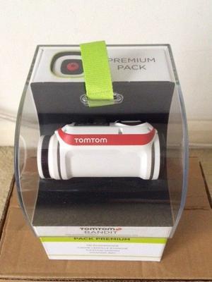 TomTom Bandit Premium Pack Action Camera - White, NEW. Location - Heathrow, West London
