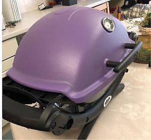 Weber Q purple BRAND NEW