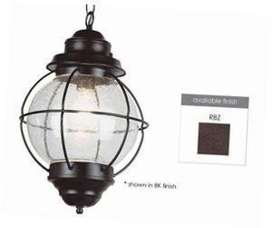 "rbz outdoor catalina 19"" hanging lantern, rustic"
