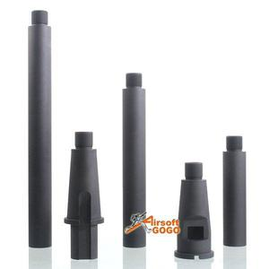 """4 Segments Outer Barrel for Airsoft M4 AEG ("""") & GBBR"""