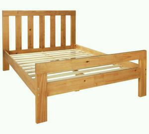 £85 - Chile Double Bed Frame - delivery available