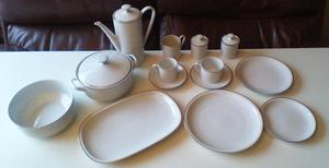 Bone china / Porcelain Dinner service Made in Germany by Arz