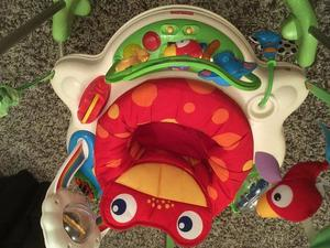 Fisher price jungle bouncer